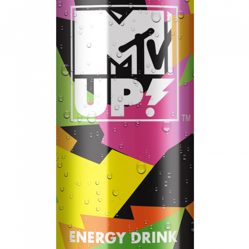 _MTV UP energy drink SOUR POWER 025L CAN mokra