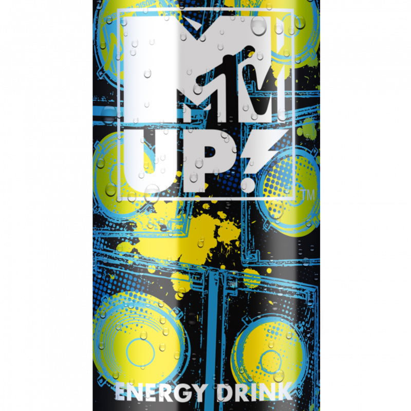 _MTV UP energy drink WILD BITTER 025L CAN mokra